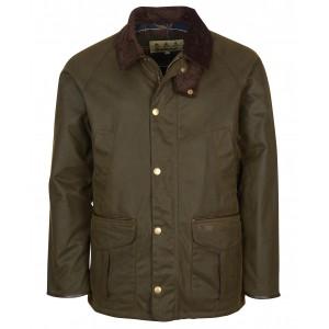 Barbour Stratford Wax Jacket - Olive