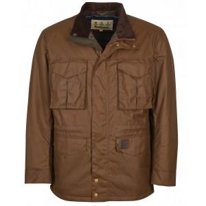 Barbour Watson Wax Jacket - Brown