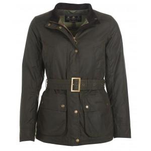 Barbour Montgomery Wax Jacket - Olive