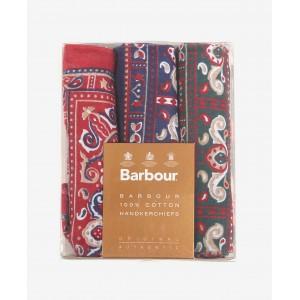 Barbour Paisley Hankies - Multi Textile