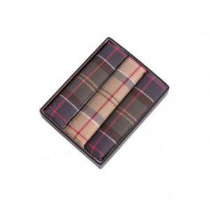 Barbour Tartan Pocket Squares - Multi Cotton