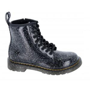 Dr. Martens 1460 Junior Boots - Black Cosmic Glitter