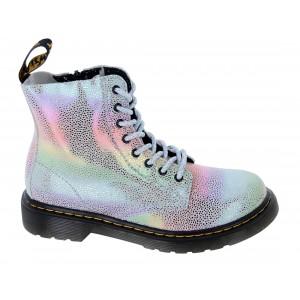 Dr. Martens 1460 Pascal Junior Boots - Rainbow Kidray