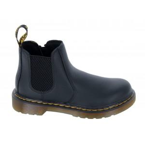 Dr. Martens 2976 Junior Boots - Black Leather