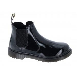Dr. Martens 2976 Junior Boots - Black Patent