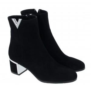 Evaluna 8500A Boots - Nero Suede