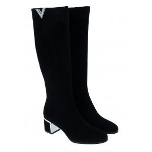 Evaluna 8501A Boots - Nero Suede