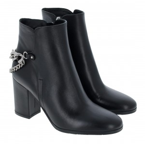 Evaluna 9422 Boots - Nero Leather