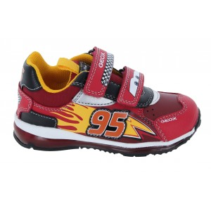 Geox Todo B1684B Trainers - Red/Black