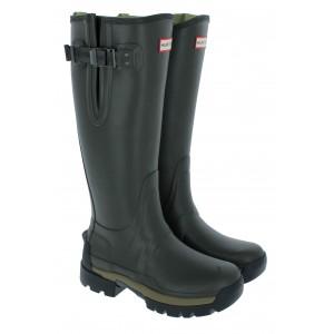Hunter Womens Balmoral ll Adjustable WFT1064RNP Wellingtons - Dark Olive