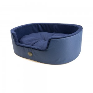 Le Chameau Dog Bed- Blue