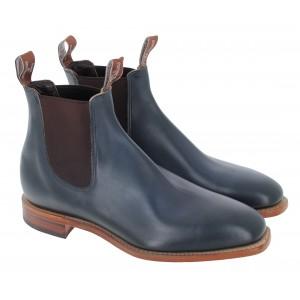 R. M. Williams Chinchilla  Boots - Prussian Blue
