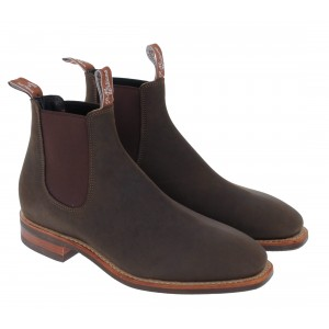 R. M. Williams Comfort Craftsman Boots -  Mid Brown Oily Fern