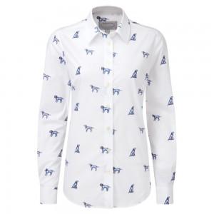 Schoffel Norfolk Shirt 4109 - Spaniel Print