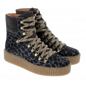 Shoe The Bear Agda Leo Boots -  Grey
