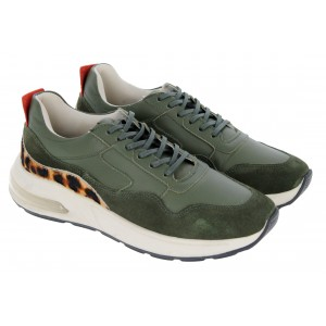 Golden Boot Passos AGI001 Trainers - Green/Army