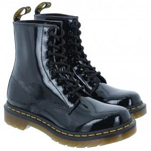 Dr. Martens 1460 W Boots - Black Patent