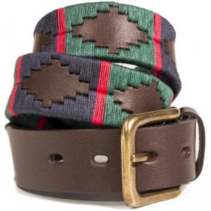 Pioneros 196 Polo Belt- Navy/Dark Green