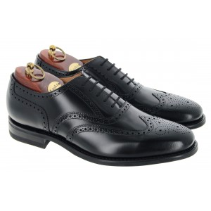 Loake 302 Shoes - Black