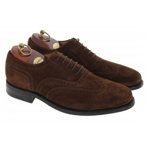 Loake 302 Shoes - Brown Suede