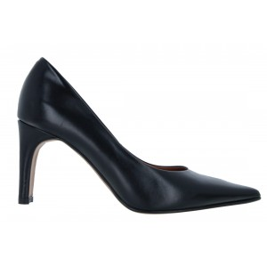 The Golden Boot 4105 Leather Court Shoes - Black