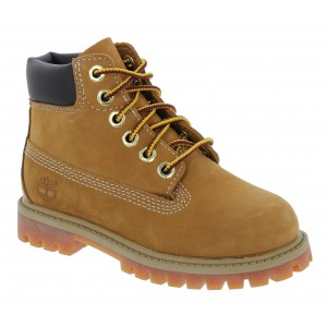 Timberland 6 In Premium TB0128 Toddler Yellow Leather