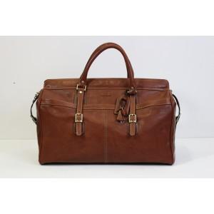 Gianni Conti 912298 Duffle Bag - Cognac