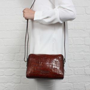 Gianni Conti 9493312 Handbag - Cognac