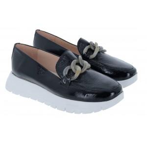 Wonders A-2405 Shoes - Black Patent