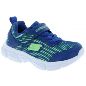 Skechers Advance Intergrid 95022N Trainers - Blue/Lime