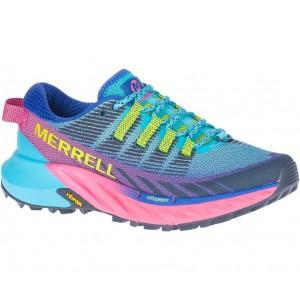 Merrell Agility Peak 4 J135112 Shoes - Atoll Blue
