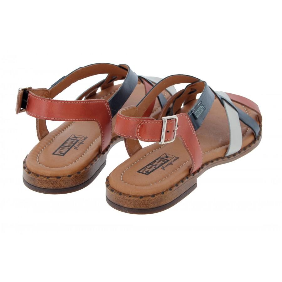 Algar W0X-0556C1 Sandals - Scarlet