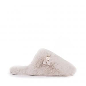 Bedroom Atheltics Amber Slippers - Cream