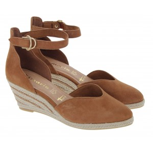 Tamaris Azalie 24402 Wedge Shoes - Muscat