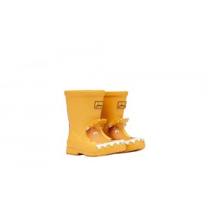 Joules Baby Welly Print 210182 Wellies - Gold Lion