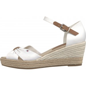 Tommy Hilfiger Basic Open Toe Mid Wedge FW04785 Sandals
