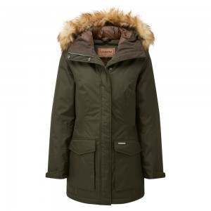 Schoffel Bedale Down Coat - Forest