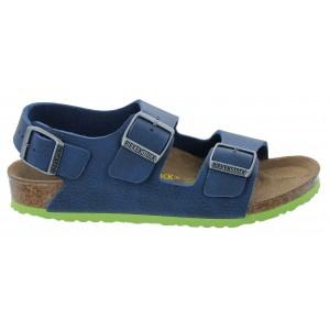 Birkenstock Milano Kids Sandals - Desert Blue