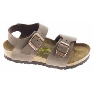 Birkenstock New York Kids Regular Fit Sandals - Mocha