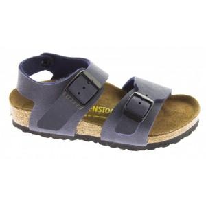 Birkenstock New York Kids Regular Fit Sandals - Navy