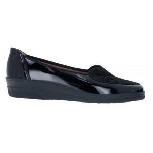 Gabor Blanche 56.404 Shoes - Black Patent