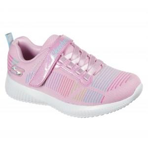 Skechers Bobs Squad 302379L Trainers - Pink/Multi