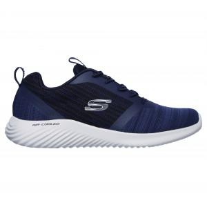 Skechers Bounder 52504 Trainers - Navy