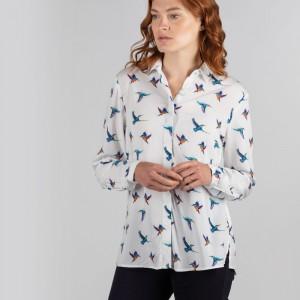 Schoffel Brownlow Shirt 4124 - Kingfisher Print