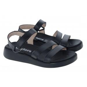 Wonders C-6504 Sandals - Black
