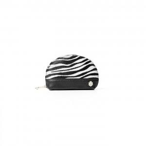 Fairfax & Favor Chiltern Coin Purse - Zebra Haircalf