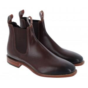 R. M. Williams Chinchilla Boots - Bordeaux