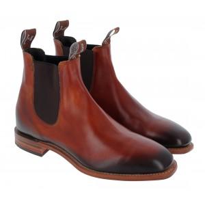R. M. Williams Chinchilla Boots - Cognac