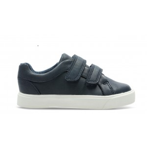 Clarks City Oasis Lo Toddler Shoes - Navy