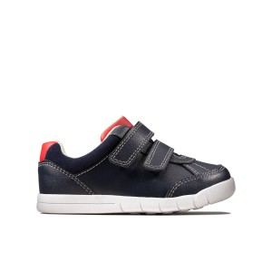 Clarks Emery Sky Toddler Shoes - Navy